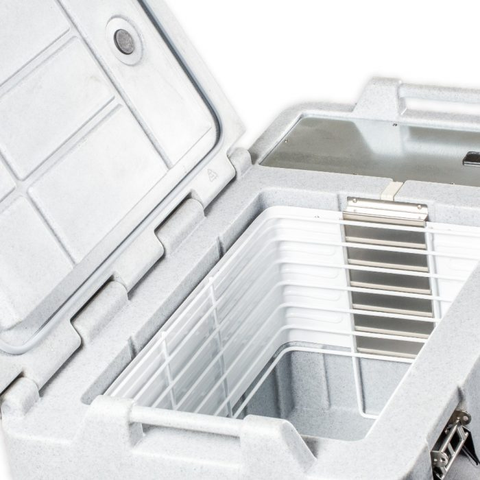 Contenitore refrigerato da 82 litri, dettagli interni