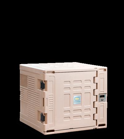 %%ct_capacita%% thermo transportbehälter | Aktiver Isothermbehälter für Lebensmittel mit eingebautem Akku